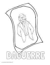 World History Coloring Pages Printables Daguerre