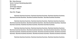 business letter formet the best business letter format for every letter type
