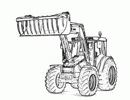 Small Picture Free Tractor Coloring Pages fablesfromthefriendscom