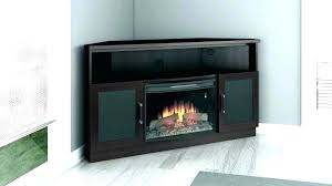 gas fireplace tv stand corner cabinets natural ventless