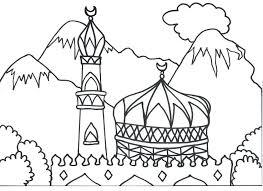 Muslim Coloring Pages Printable Houseofhelpccorg