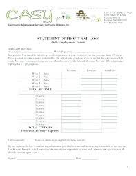 Monthly Income And Expenses Income Expense Statement Template