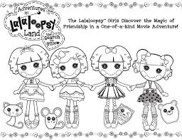 Small Picture Best Lalaloopsy Coloring Pages FITFRU Style