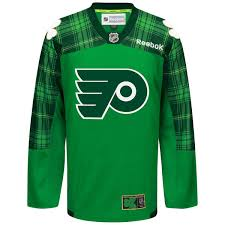 flyers green jersey philadelphia flyers st patricks day jersey clearing these out size