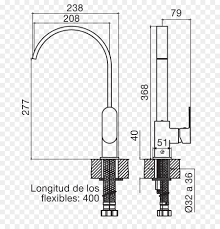 door handle drawing line diagram line