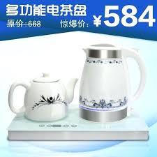 glass electric tea kettle ceramic glass electric heating kettle set electric tea tray electric kettle teapot