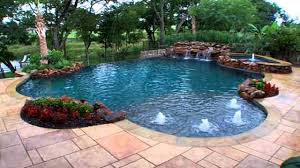 Nice Simple Design Of The Intex Pool Landscaping Can Be Decor With Elegant  Pool Can Add ...