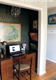 office in a closet ideas. Closet Desk Ideas Home Office Inspiring Exemplary Best Turned Only On In A