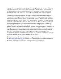 Communication Essay Sample John C Hart Memorial Library Shrub Oak Ny Non Verbal