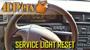 97 Volvo 850 Service Light Reset Diy How To Reset Volvo S70 V70 C70 Service Light