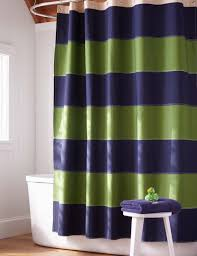 Navy Blue And Green Shower Curtain Shower Curtain Ideas