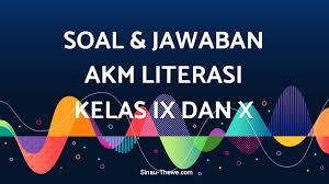 Contoh soal bahasa indonesia kelas 12 semester 1 kurikulum 2013 dan jawaban pg soal soal pilihan ganda b. Contoh Soal Akm Sma Bahasa Jawa Id Revisi