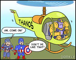 Taking Thanos So Long To Get To Earth ...