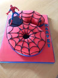 Spider Man Cake Using The 6 Spider Man Cake In 2019 Dragon