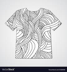 Doodle Shirt Design Design T Shirt With Hand Drawn Doodle Pattern