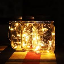 multi color outdoor solar jar design. Solar Jar Lid Insert LED Fairy Mason Light For Glass Jars And Garden Decor Multi Color Outdoor Design O