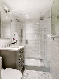 S White Brick Tiles Wall Bathroom Ideas Also Corner Design Large Wet Room For  Small Master Bath