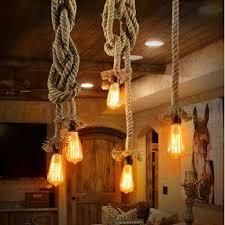 rope pendant light picture more detailed picture about retro rope pendant light loft vintage lamp restaurant bedroom dining room diy decorative pendant