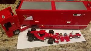 De set is inclusief 6 minifiguren met diverse accessoires: Lego Speed Champions 75913 F14 T Scuderia Ferrari Truck Set Incomplete Racing Condition Is New Lego Speed Champions Lego Legos