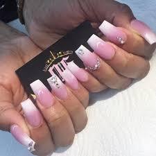 Pink And White Acrylic Nail Designs Slyburycom - CPGDS Consortium
