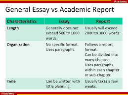 an introduction to academic writing ppt video online  general essay vs academic report