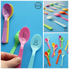Wooden Spoon Game Unique Preschool Letter Matching Game Planning Playtime