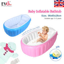 inflatable portable travel compact toddler infant kids baby bath tub outdoor new 16 99 endearing