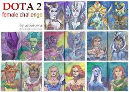 dota2 female challenge all by aloesowa on deviantart