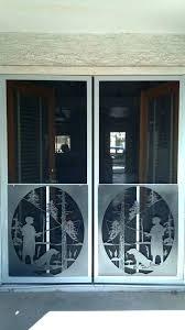 pet screen protector for sliding door glass door protector window sliding dog guard protect from scratches designs patio protection threshold glass door