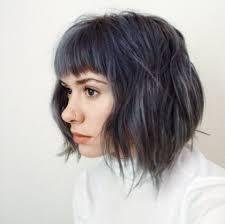 Steely Blue Breelaliberte Instagram Gray Hair