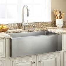 stainless steel farmhouse kitchen sinks 33 optimum stainless steel farmhouse sink wave a kitchen