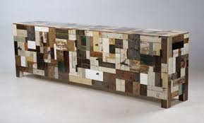scrapwood furniture from Piet Hein Eek