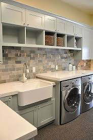 Utility Sink Backsplash Enchanting Fifty Stylish Laundry Room Ideas Dream Home Pinterest Laundry