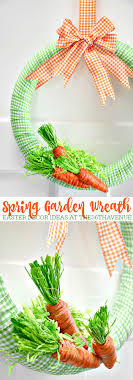 this adorable diy spring wreath will make your easter decor fun and festive