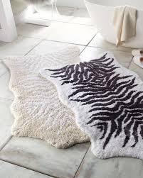 quick look graccioza mountain zebra bath rug