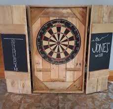 Dart Board Cabinet With Chalkboard Dart Board Contact Us At Builditrusticcom To Order Your Very