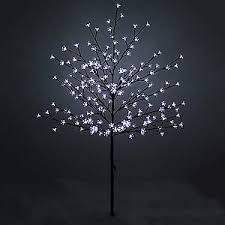 New 1.5M Led Cherry Tree Artificial Christmas Tree Indoor / Outdoor 150  White Led'S