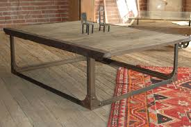 Industrial Coffee Table Hand Made Industrial Coffee Table By Tecklenburg Design
