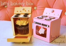 bitty bakery cupcake box template
