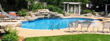 In ground pools Nice In Ground Sunshine Pool Company In Ground Dolphin Pools