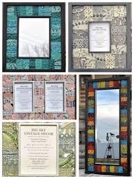 Decorative Tile Frames Tin Ceiling Tile Frames Mirrors Bulletin Boards Home Decor 82