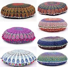 Round Decorative Pillows Large Throw Pillows Ebay