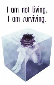 I Hate My Life Quotes Interesting I Am Not Living I Am Surviving Picture Quotes