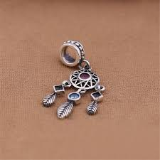 Pandora Dream Catcher Charm 100 Silver Enchanted Forest Dreamcatcher Gift Handmade Charm Beads 5
