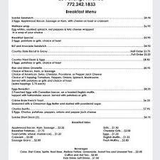 You get the sunrise shack menu! Sunrise City Cafe Menu Sunrise City Sunrise City