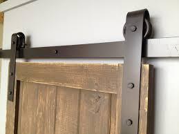wall mount barn door type sliding hardware doors