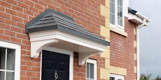 front door canopy over porch canopies uk regarding decor 1