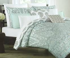 Amazon.com: Cynthia Rowley Full Queen Duvet Cover Set Paisley ... & Amazon.com: Cynthia Rowley Full Queen Duvet Cover Set Paisley Large  Moroccan Medallion Aqua Grey Turquoise Blue Gray (Full/Queen): Home &  Kitchen Adamdwight.com