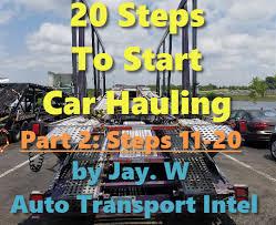AUTO TRANSPORT BUSINESS STARTUP - Auto Transport Intel