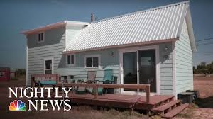 for this texas town tiny houses may signal a return to relevance nbc nightly news